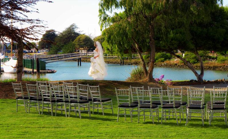 Dream weddings at Berkeley Boathouse