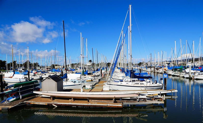 Hilton Berkeley Marina view