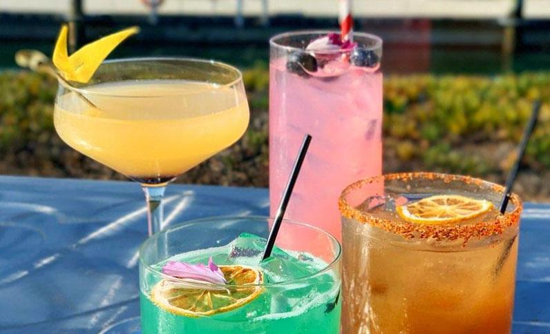 Premium beverages at Berkeley Boathouse